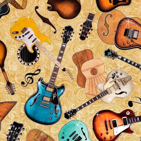 Good Vibrations 27503-S Guitars Tan