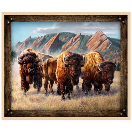Roam Free Buffalo Panel 27940-A