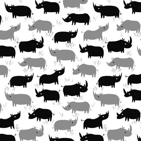 Dyno Rhino 27945-Z Silhouettes