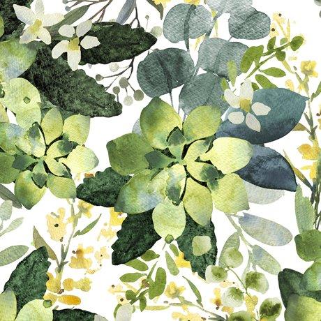 Love Never Fails 27981-Z Succulents White