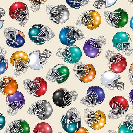 Football 27985-E Helmets Cream