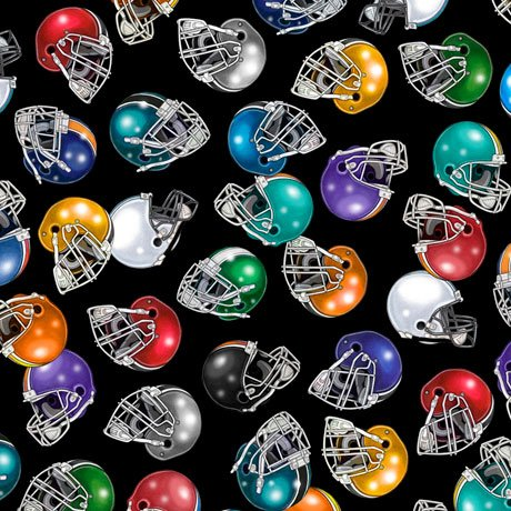Football 27985-J Helmets Black