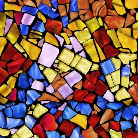 Glass Menagerie 28035-X Mosaic Multi