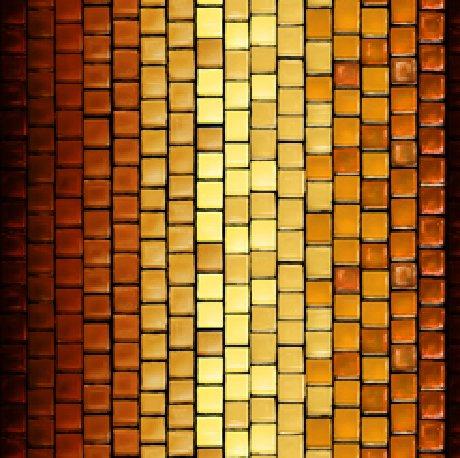 Glass Menagerie 28036-T Tile Stripe Rust