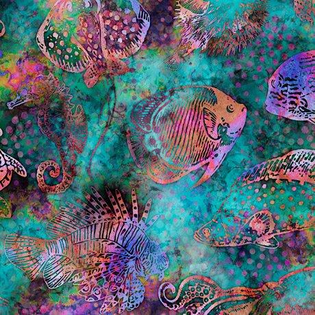 Aquatica 28121-Q Fish Teal