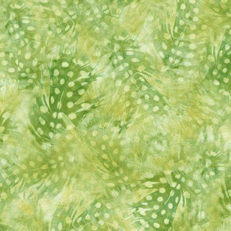Hummingbird Garden 28158-H Feather Texture Green