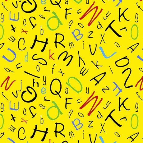 Alphabet Soup 28210-S ABC Toss Yellow