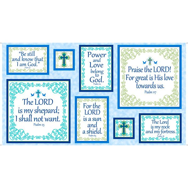 Psalms 28252-B Patches 24 Panel