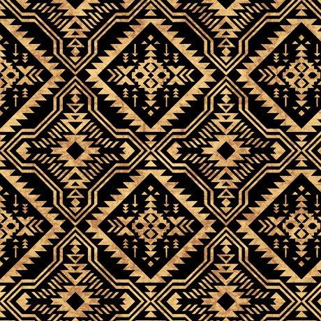 Southwest Reflection 28261-J Blanket Black