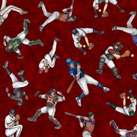 America's Pastime 28353-M Players Toss Wine