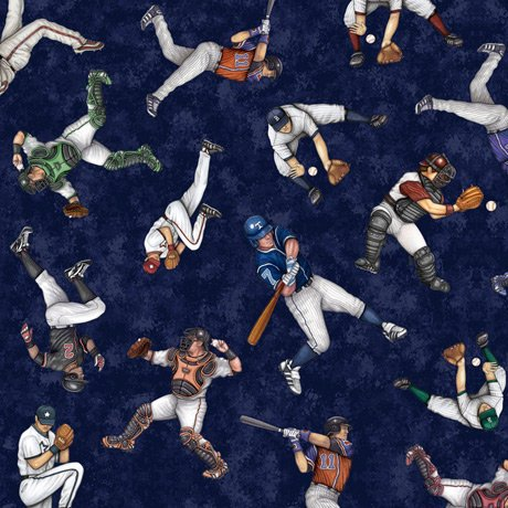 America's Pastime 28353-N Players Toss Navy