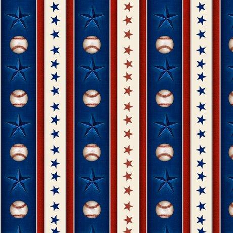 America's Pastime 28356-N Star Stripe Navy