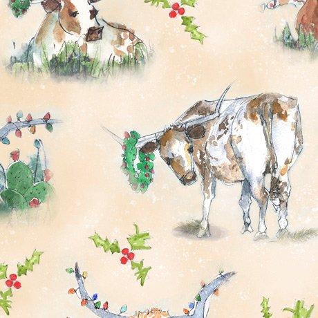 Christmas Longhorns 28361