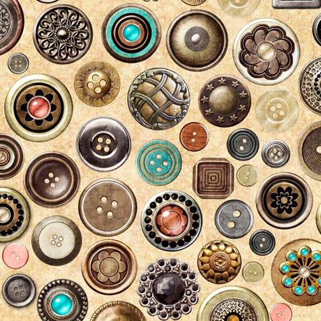 Sew Lovely 28379-E Buttons Cream