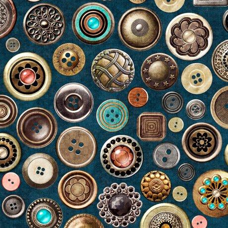 Sew Lovely 28379-W Buttons Denim