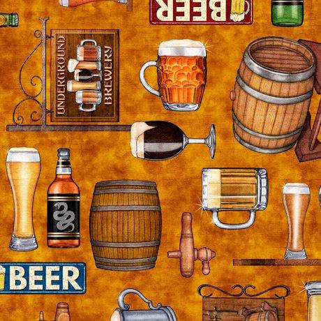Beer On Tap 28419-S Motifs Tan