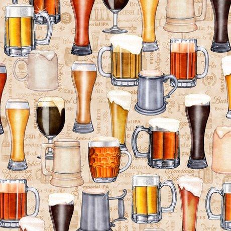 Beer On Tap 28420-E Mugs Cream