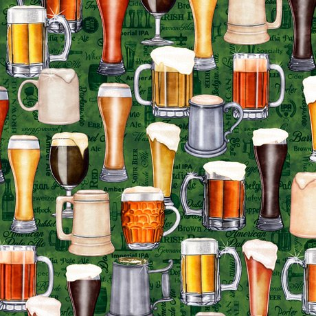 Beer On Tap 28420-F Mugs Green