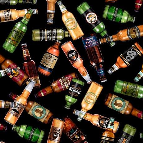 Beer On Tap 28421-J Bottles Black