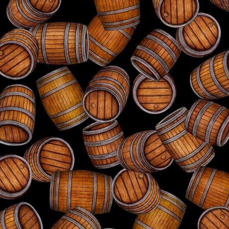 Beer On Tap 28423-J Barrels Black