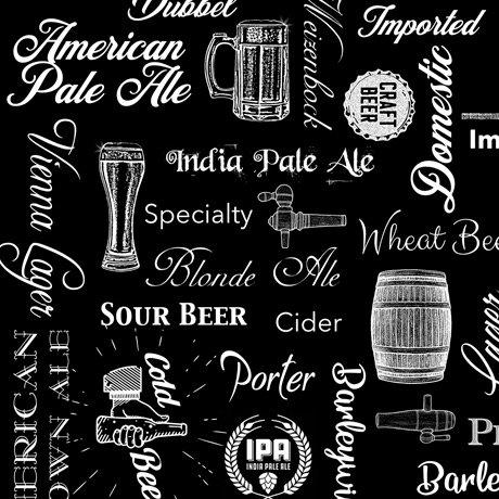 Beer On Tap 28424-J Text Black