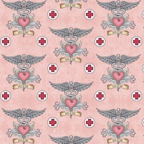 Medical Nurse Symbols 24927-P Pink