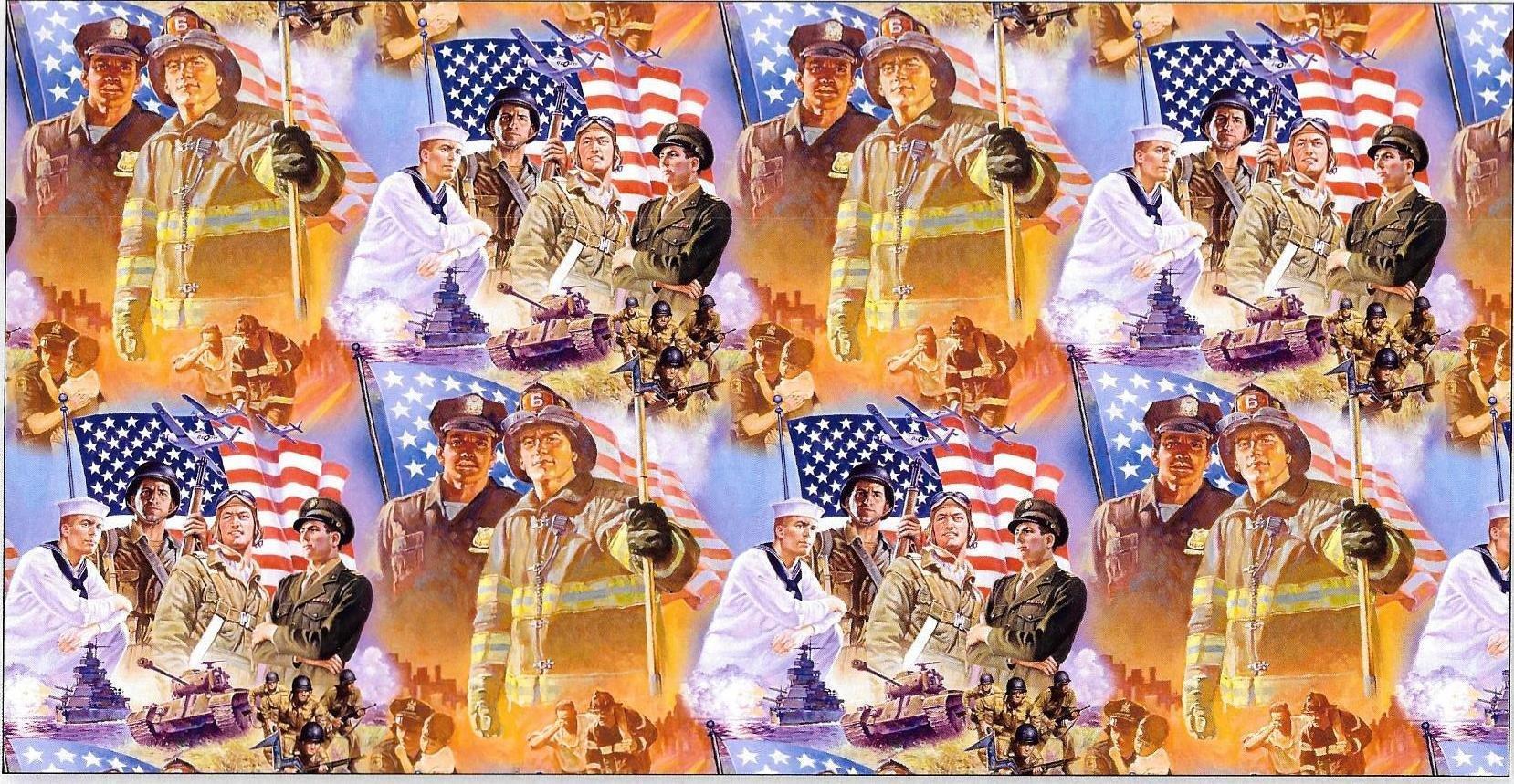 Patriotic Heroes 3736 Multi