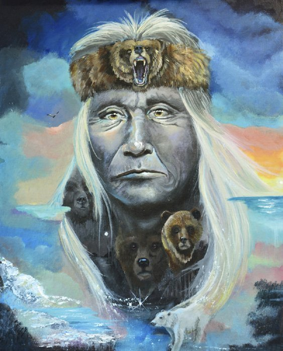 Chief Bear 3772 Panel