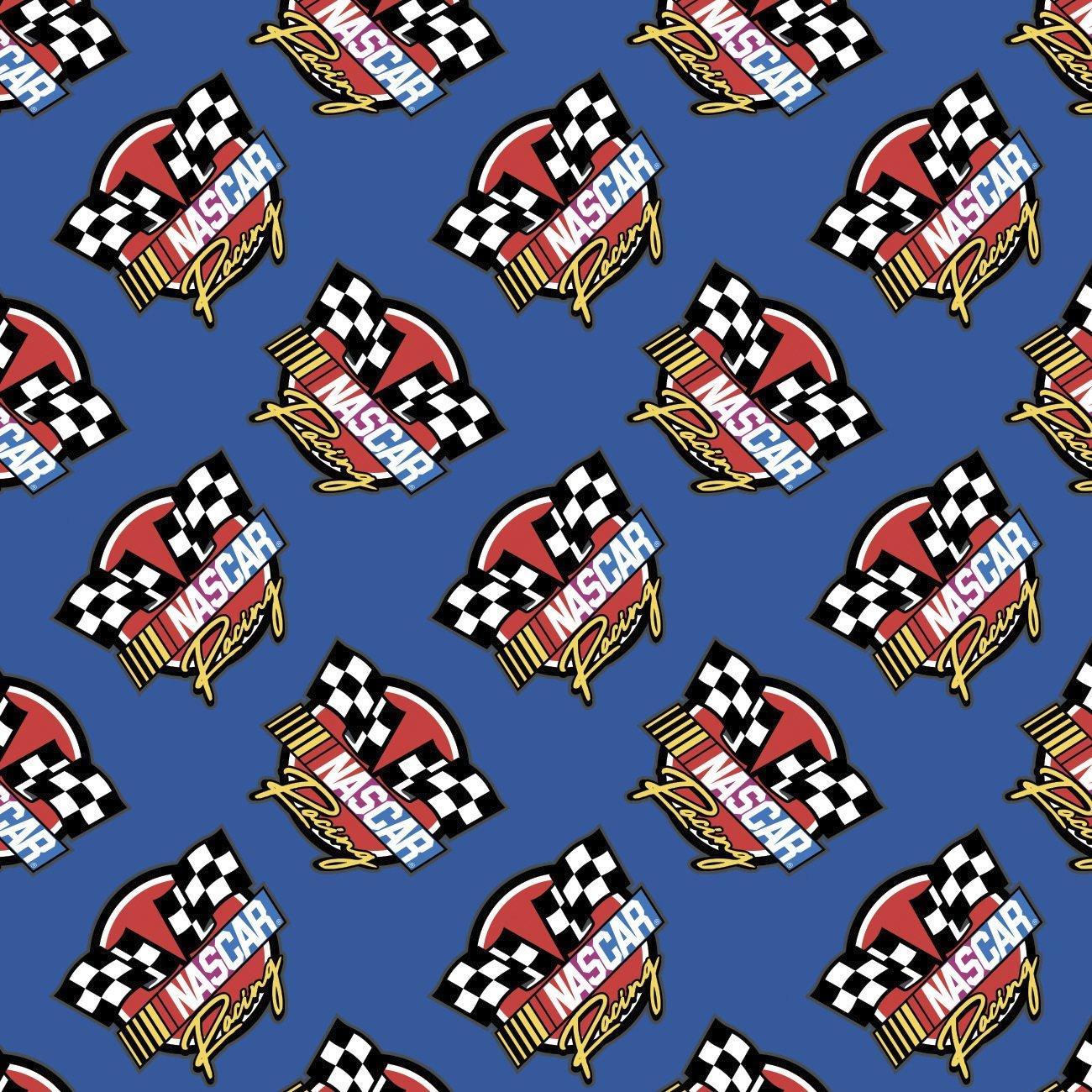 Nascar 39190106-2 Blue Retro Racing