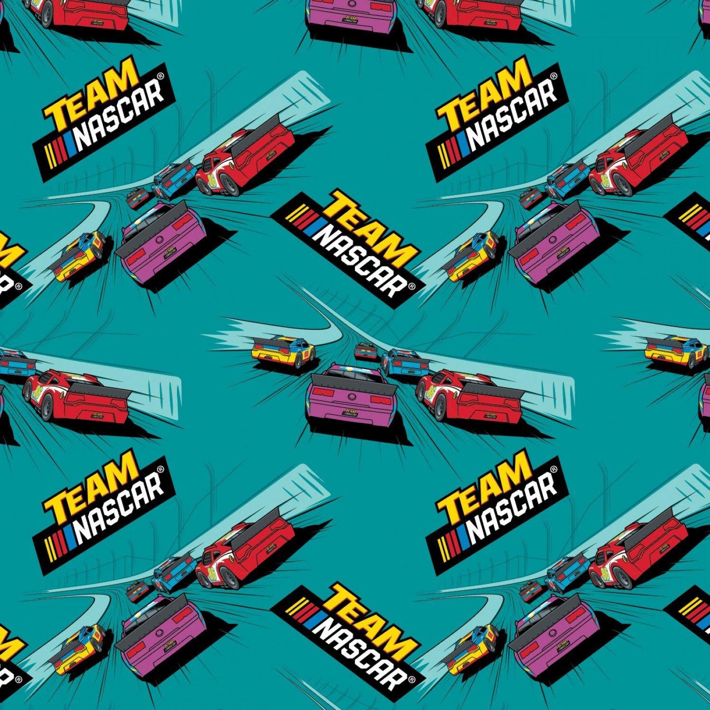 Nascar 39190116-2 Teal Tracks