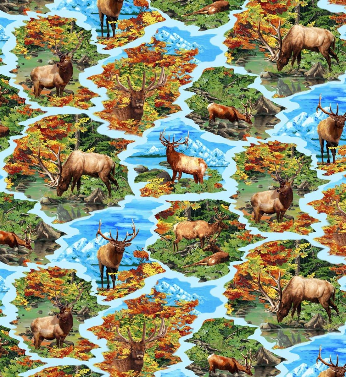 Autumn Blaze 61374 Elk