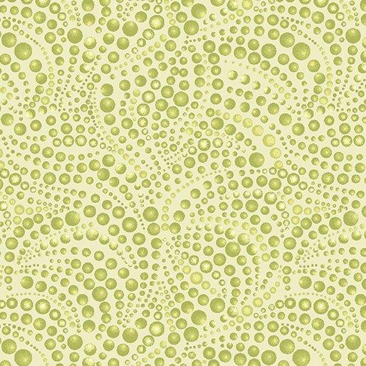 Catitude 4207-42 Beaded Swirls Tonal Light Green