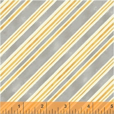 Bee My Sunshine 43319-1 Grey Stripe
