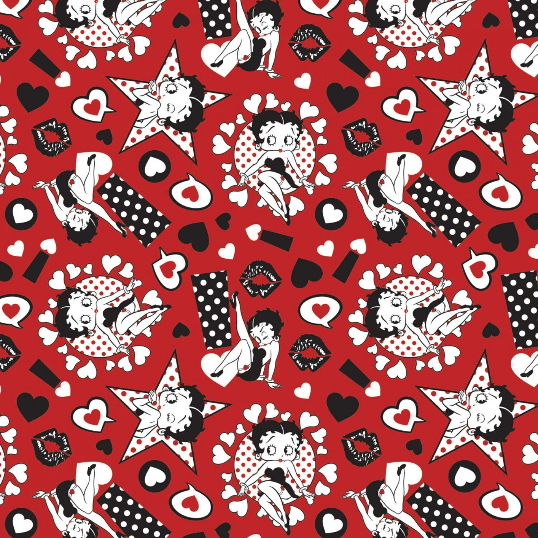 Betty Boop 45100302-2 Sassy Red