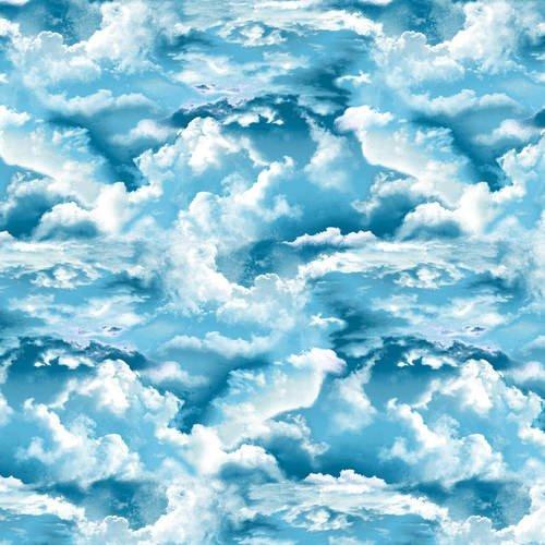 Clouds 5009-17 Blue