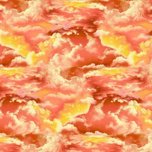 Clouds 5009-34 Sunset Orange