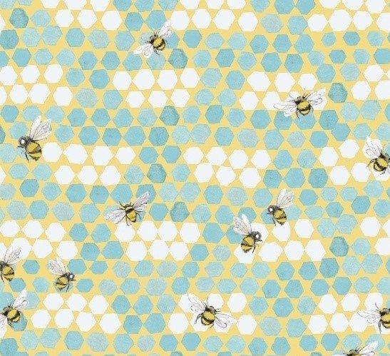 My Imagination 51163-2 Bees Turq
