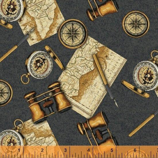 Binoculars & Compass 51633-1