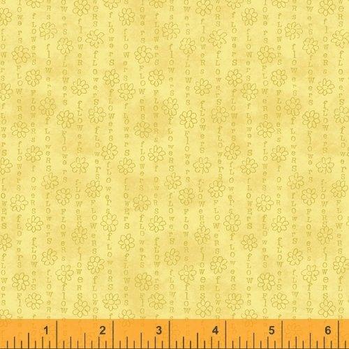 Potpourri 51659-2 Yellow Flower Chain