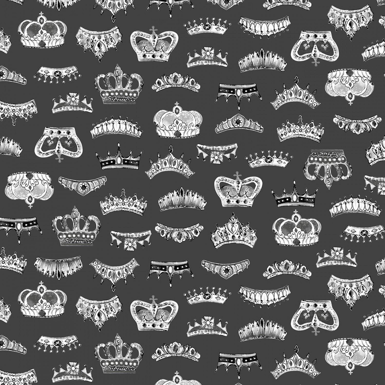 London 52346-3 Grey Crowns