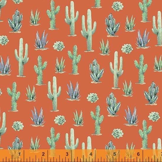 Desert Cowboy 52453D-5 Cacti Orange
