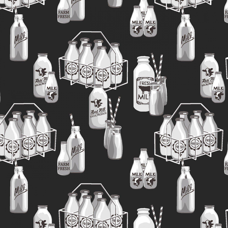 Buttermilk Farmstead 5327-99 Milk Bottles
