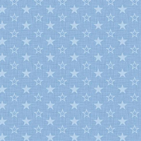 American Muscle 5342-11 Stars Light Blue