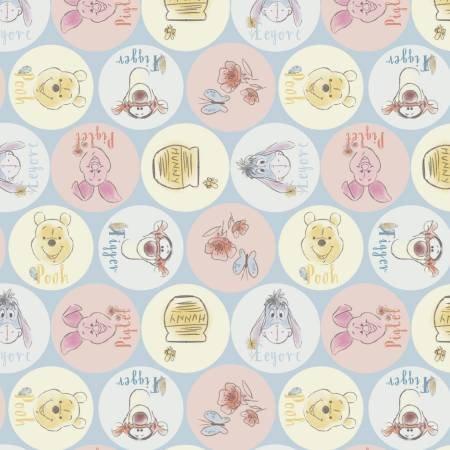 Pooh 59539 Friends Names & Dots