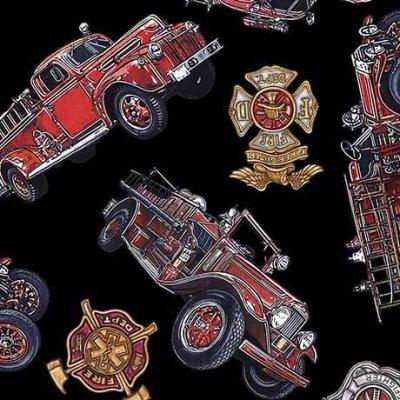 5 Alarm 26293-J Trucks & Shields Black