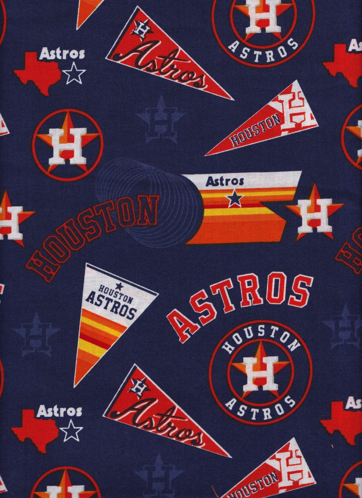 MLB Houston Astros 60050 Pennants