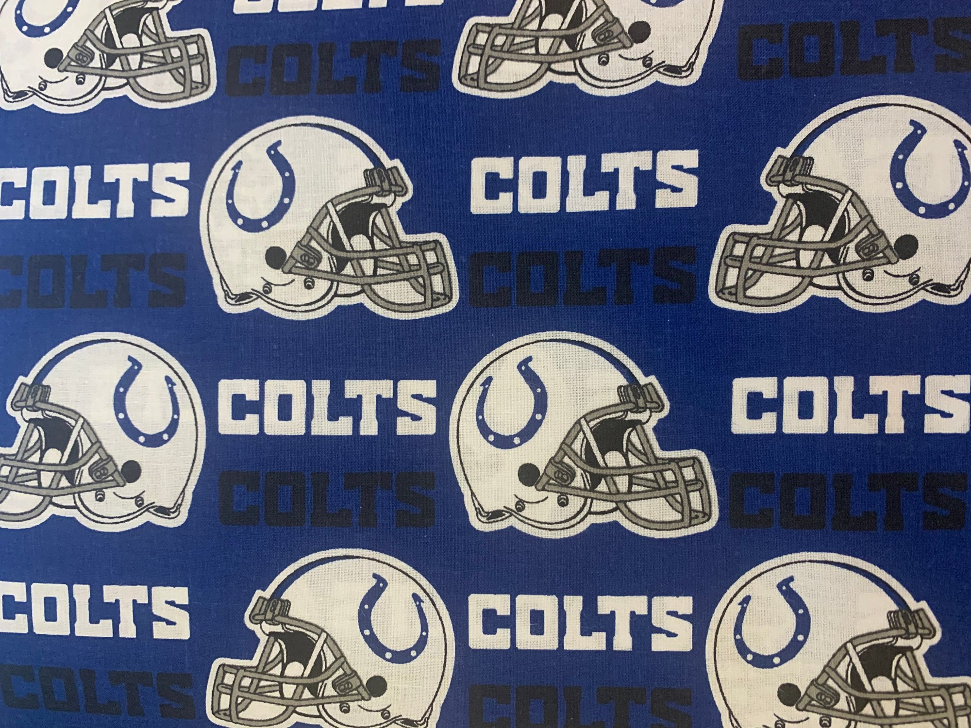 NFL Logo Indianapolis Colts 6006 Blue