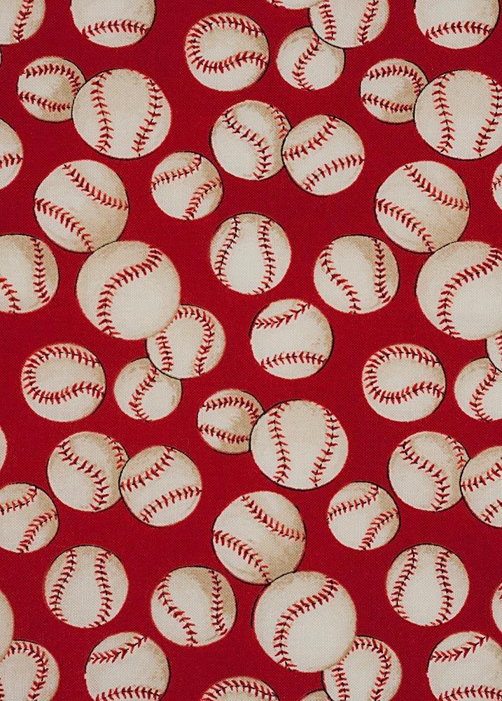 Baseball 6014-C Red