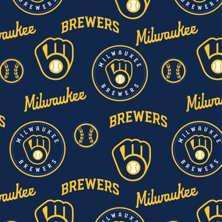 MLB Logo Milwaukee Brewers 60341 Glove