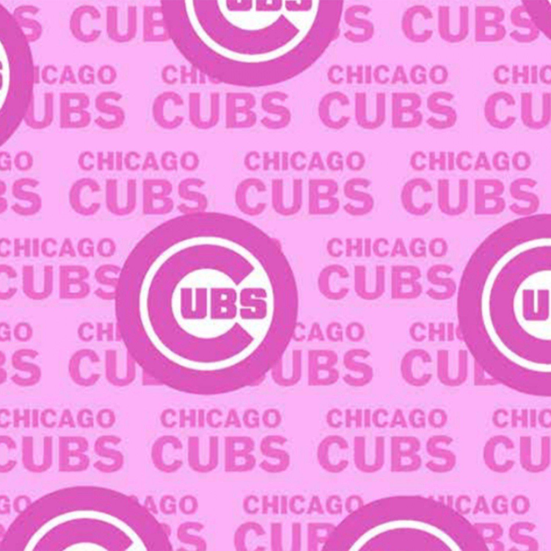 MLB Logo Chicago Cubs 60397 Pink